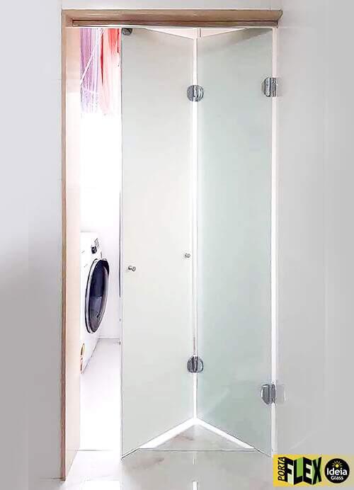 Porta Flex Cromada